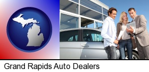 Grand Rapids, Michigan - an auto dealership conversation