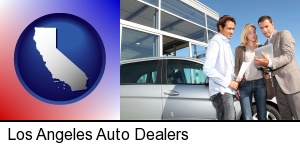 Los Angeles, California - an auto dealership conversation