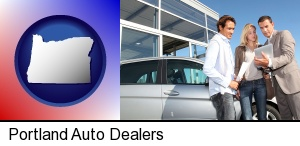 Portland, Oregon - an auto dealership conversation